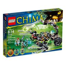 70132 Lego Chima - O Ferrão De Escorpião De Scorm 434 Peças