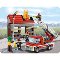 Lego City 60003 Incendio Na Cidade Carro De Bombeiros 300pcs