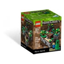 Lego Minecraft 21102 -micro World Original - Pronta Entrega