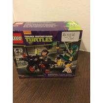Lego Tartarugas Ninjas 79118 Karai Bike Escape 88 Peças