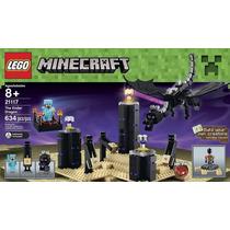 Lego 21117 Minecraft The Ender Dragon - Estoque No Brasil