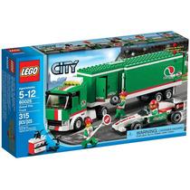 Lego City 60025 Caminhão Do Grande Prêmio Com 315 Peças