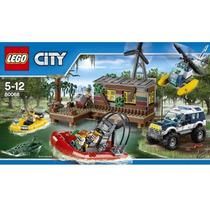 Lego 60068 Lego City Crooks Hideout Esconderijo No Pantanal