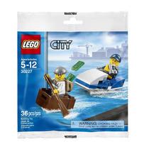 Lego City - 30227 Police Watercraft 36 Peças 2 Bonecos Novo