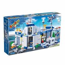 Brinquedo De Montar Banbao Sede Da Polícia 718 Peças
