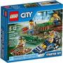 Lego City Polícia No Pantano - 60066