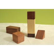 Kubiko Blocks 20pçs Brinquedos Blocos De Madeira Educativos