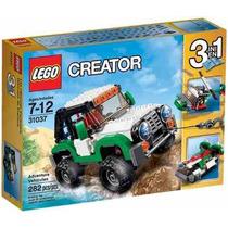 Brinquedo Lego Creator 3 Em 1 Veiculos De Aventura Ref 31037