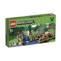 Brinquedo Lego Minecraft A Fazenda 262 Pcs 21114