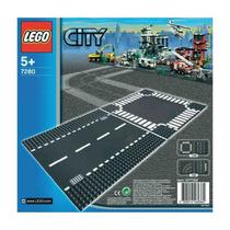 7280 Lego City Retas E Cruzamentos