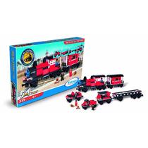 Blocos De Montar Trem Expresso Todos A Bordo 5 Em 1 335 Pçs