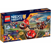 Lego Nexo Knights - Carro Do Caos Do Mestre Besta 70314