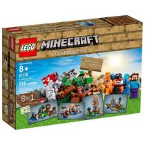 Lego Minecraft 21116 Caixa Criativa Com 518 Peças 8 Em 1