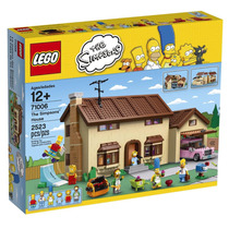 Lego 71006 Casa Dos Simpsons - 2523 Peças - Pronta Entrega!