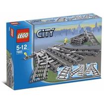 Lego Trains 7895 Kit De Trilhos: Desvios, Novo!