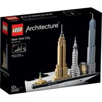 Lego Architecture New York City 598 Pçs Novo Frete Gratis