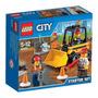 Lego City - Conjunto De Iniciação Para Demolição - 60072
