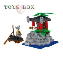 Blocos De Montar Ataque Pirata 100 Peças Tipo Lego