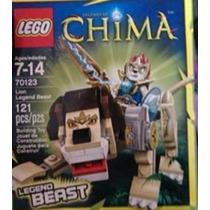 Original Lego Legends Of Chima Lion Legend Beast Set 70123