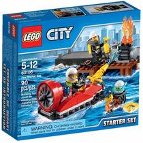 Lego City 60106 Conjunto Iniciação Combate Ao Fogo 90 Peças