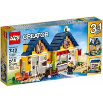 Lego Creator 31035 Beach Hut Casa Na Praia 3 Em 1