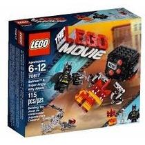 The Lego Movie 2015 Batman & Super Angry Kitty 70817