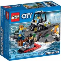 Lego City 60127 Prison Island Starter Set, Novo, P. Entrega!
