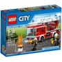 Lego City - Caminhão Com Escada De Combate Ao Fogo 60107