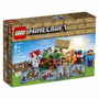 Lego Minecraft 21116 Creative Adventure 518 Peças P. Entrega