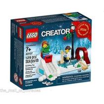 Lego Creator 40107 Patinacao No Gelo Skate 129pcs Novo