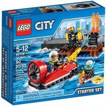 Lego 60106 City Conjunto Iniciação Para Combate Ao Fogo