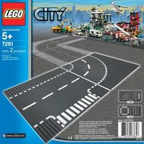Lego City Entroncamento E Curvas 7281