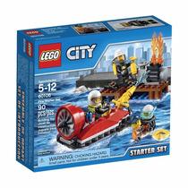 Brinquedo Lego City Conjunto Iniciação Combate Ao Fogo 60106