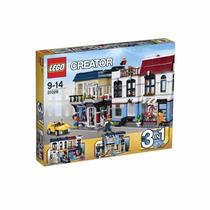 Novo Lacrado Lego Creator Loja De Bicicletas E Café - 31026