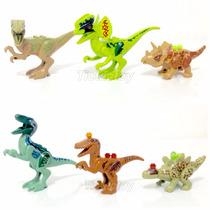 6 Dinossauros Lego Compatível / Jurassic World