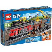 Lego Train 60098 Lego City Trem De Carga Pesada Lançamento