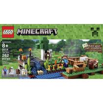 Lego Minecraft - A Fazenda - 21114 - 262pcs - Pronta Entrega