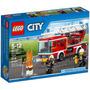Lego 60107 City Caminhão Com Escada De Combate Ao Fogo