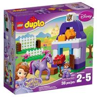Brinquedo Lego Duplo Estábulo Real Da Princesa Sofia 10594