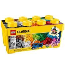 Balde Lego Classic 10696 Com 484 Pçs Inclui Livro De Ideias