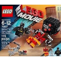 Lego Batman & Super Angry Kitty Attack Movie