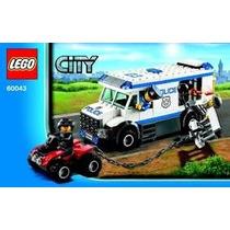 Lego City- 60042 Perseguiçao De Policia 110 Peças