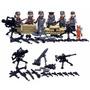 Blocos De Montar Segunda Guerra Exercito Alemão Swat 6x