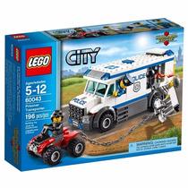 Lego City Locomoção De Prisioneiros 60043 Policia 169pcs