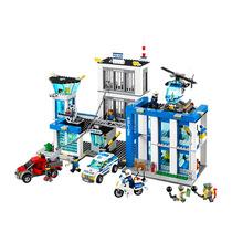 Lego City Police Station Distrito Policial 854 Peças 60047