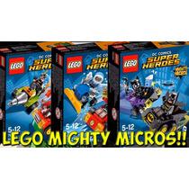 Lego Batman Robin Flash 6 Bonecos Dc Comics Original
