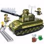 Blocos De Montar Tanque De Guerra Banbao 8234