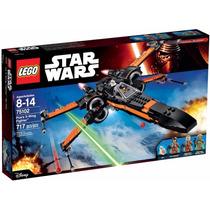 Lego 75102- Star Wars X-wing Fighter Do Poe -717 Peças