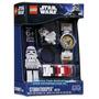 Brinquedo Novo Lego Star Wars Relógio De Pulso Stormtrooper