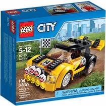 Lego City - Carro De Rally 60113 - 104 Peças Pronta Entrega